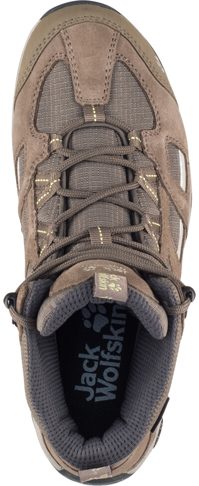 553c5a1f92 Jack Wolfskin Vojo Hike 2 Texapore Shoes Women brown at Addnature.co.uk
